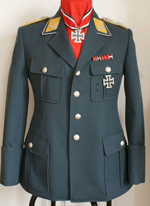 ww2 german luftwaffe m35 officers tricot tunic