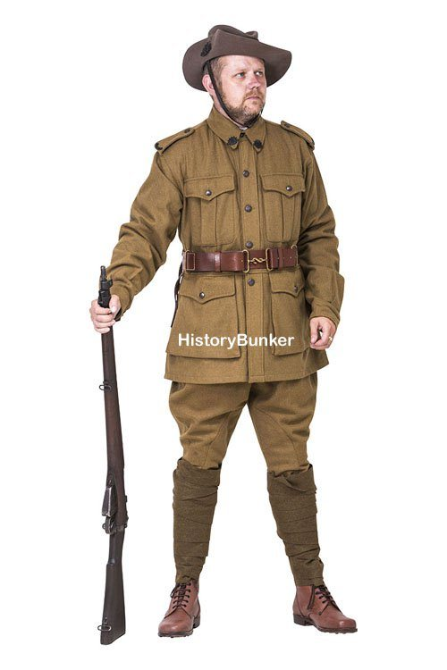 Ww1 Australian Anzac 2nd Pattern Army Uniform