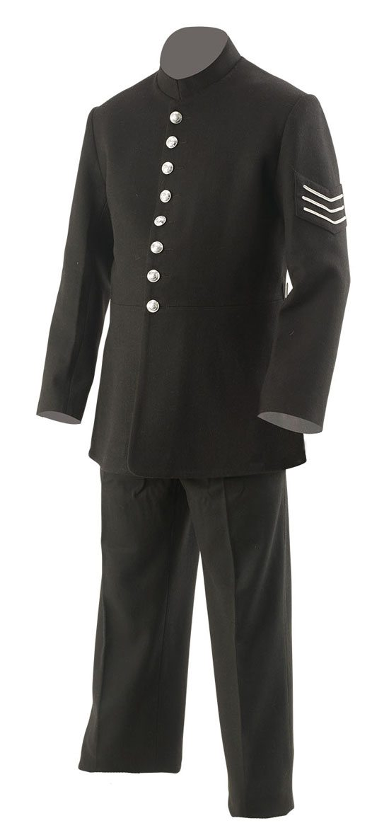 British Victorian police uniform circa 1888