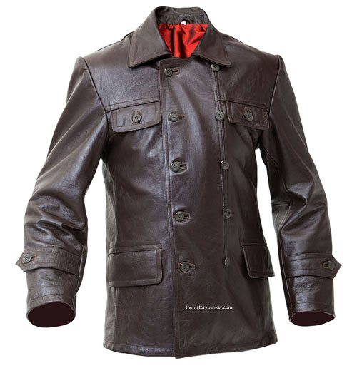 ww2 soviet tankers leather jacket