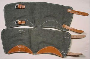 WW2 German Army Ankle Gaiters