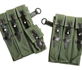WW2 German MP40 ammo pouches