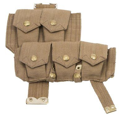 WW1 British P08 webbing ammo pouch right side