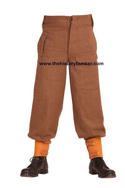 WW2 British Army pattern 37 trousers