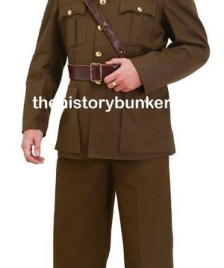 WW2 British army uniforms and tunics