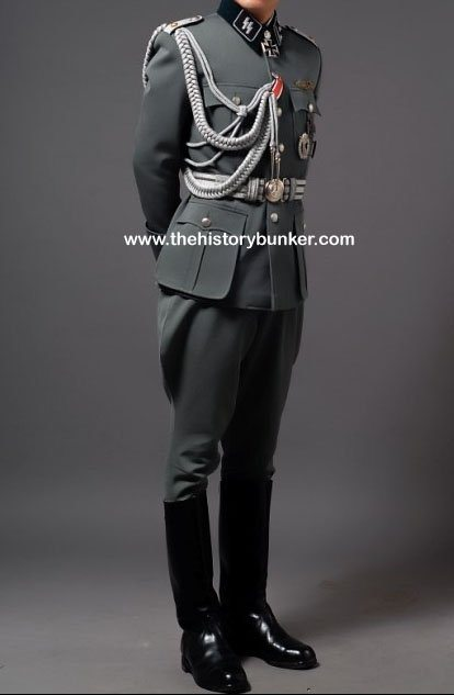 German SS officers M36 tricot uniform