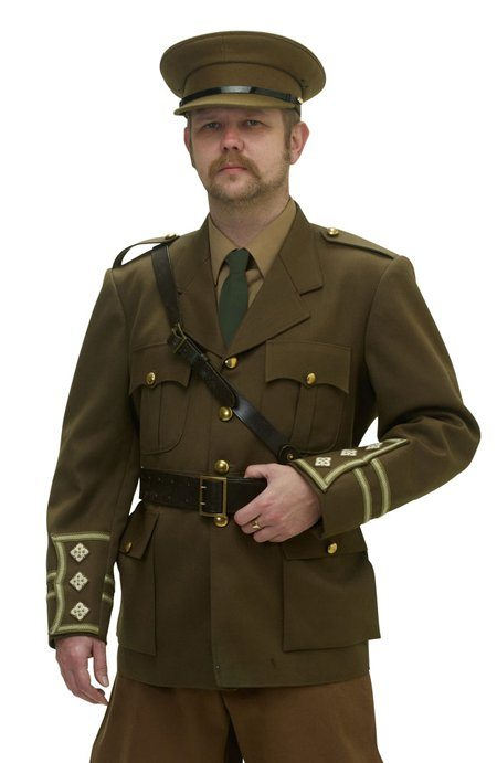 ww1 british officers uniform