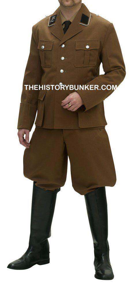 SA brown tricot uniform