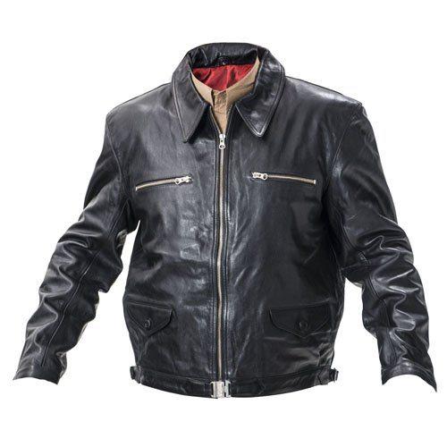Eric Hartmann Leather Flying Jacket