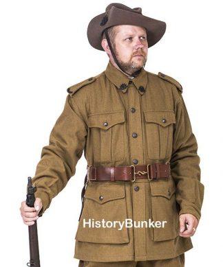 WW1 Australian ANZAC uniforms and tunics