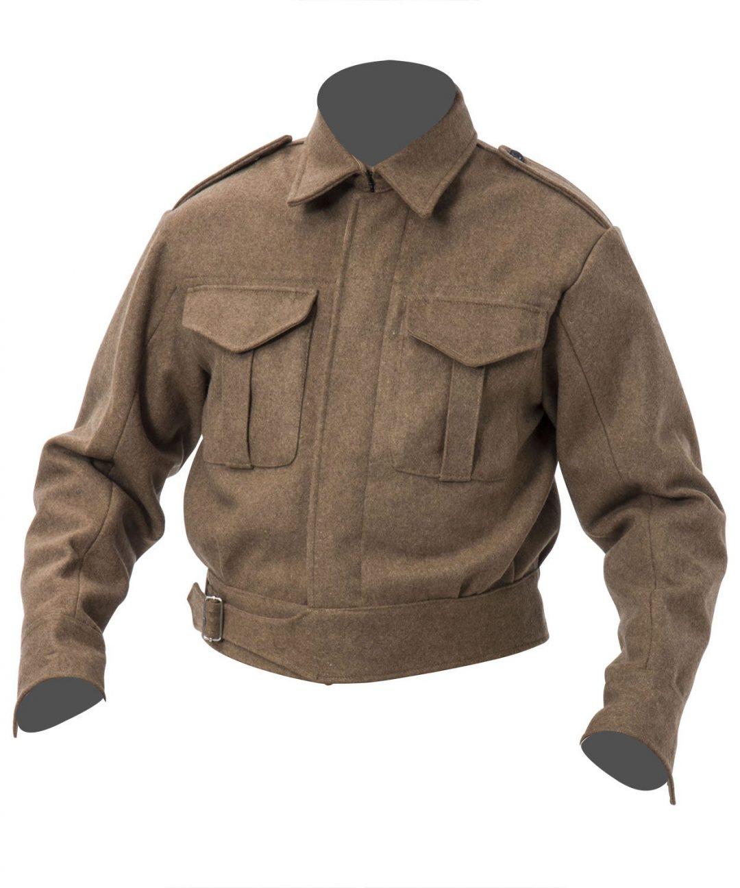WW2 British Army Pattern 37 Battle Dress blouse