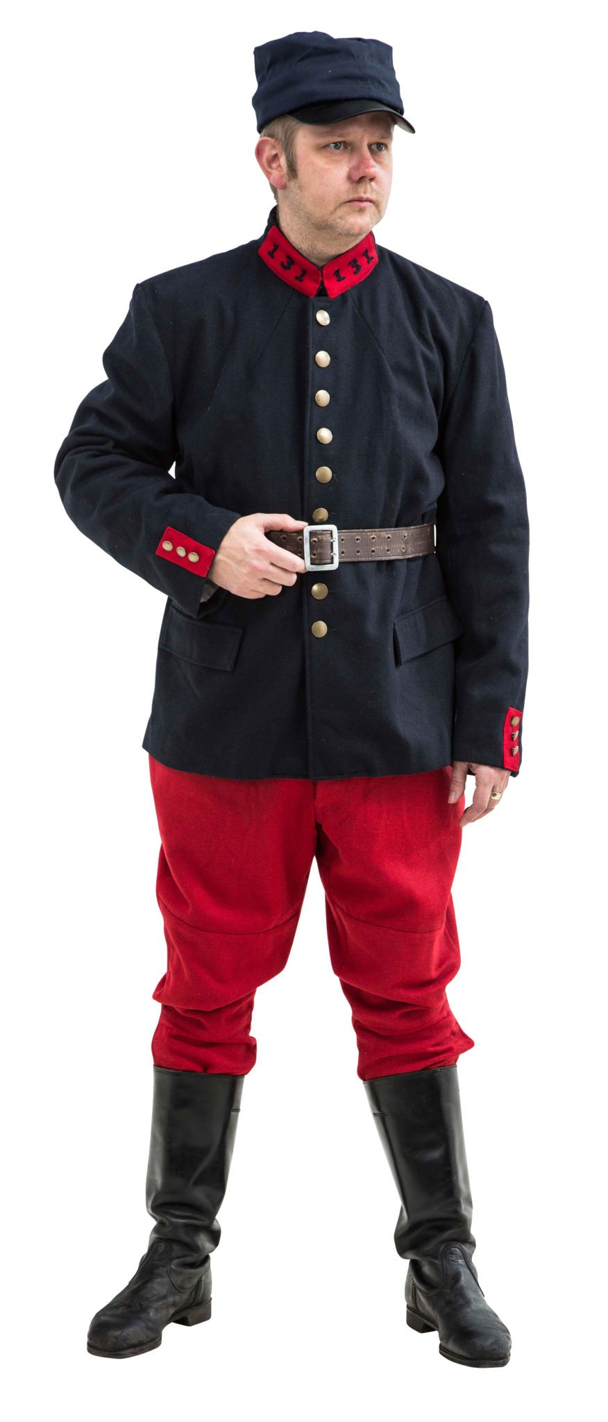 WW1 French army Uniform Early Version 1914