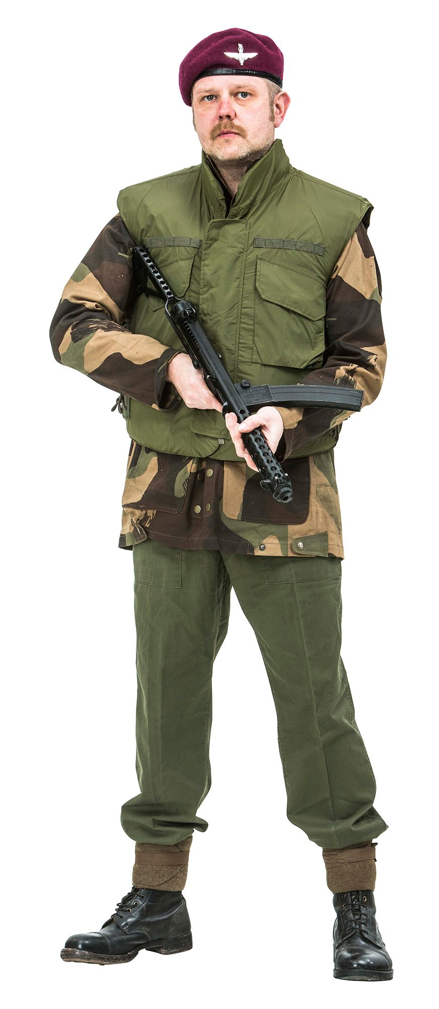 British Paratrooper Uniform 1969 Northern Ireland