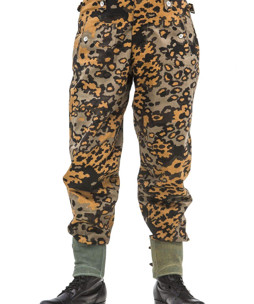 WW2 German M37 SS Oak B camo Autumn trousers