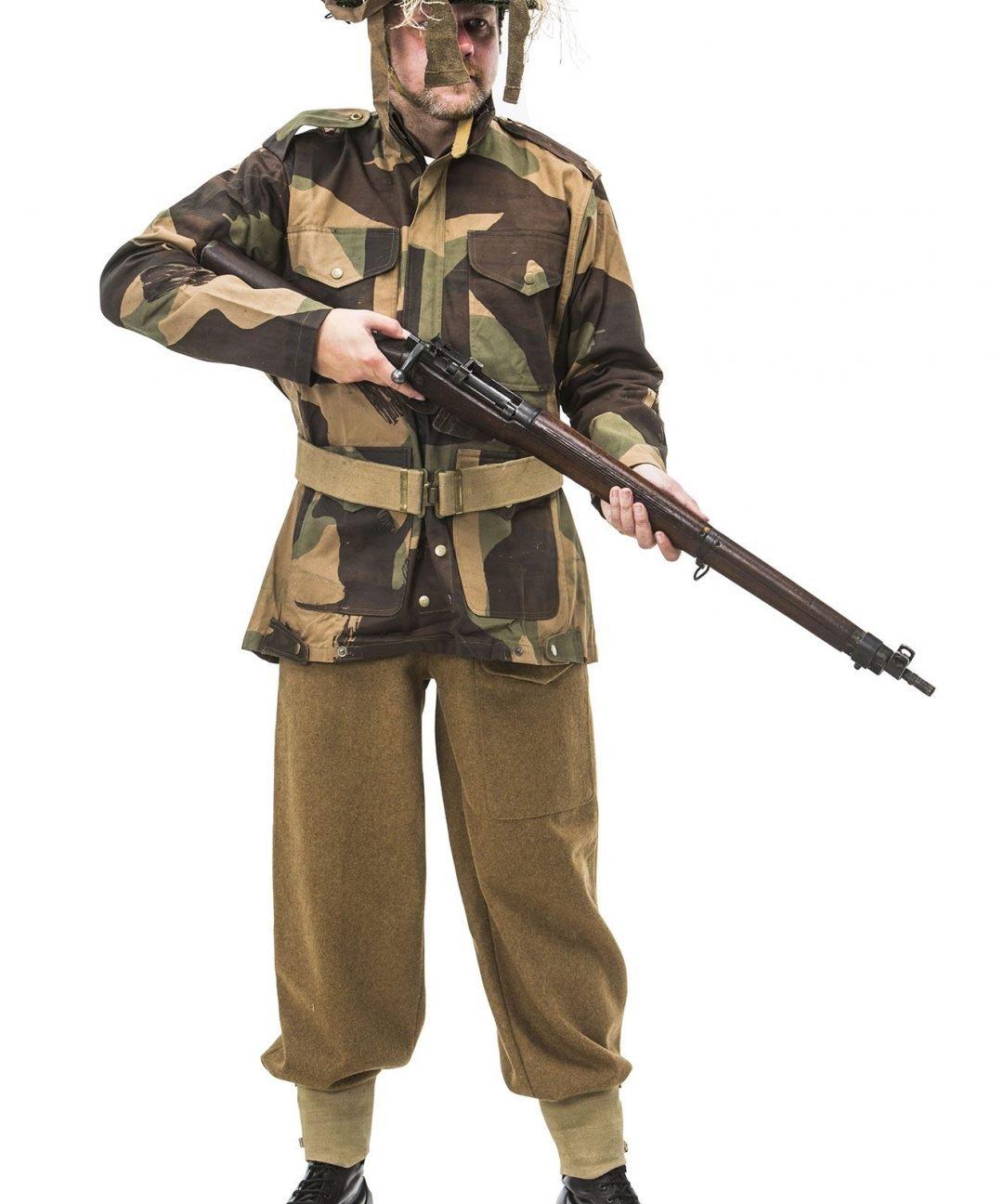 WW2 British Army Sniper Uniform