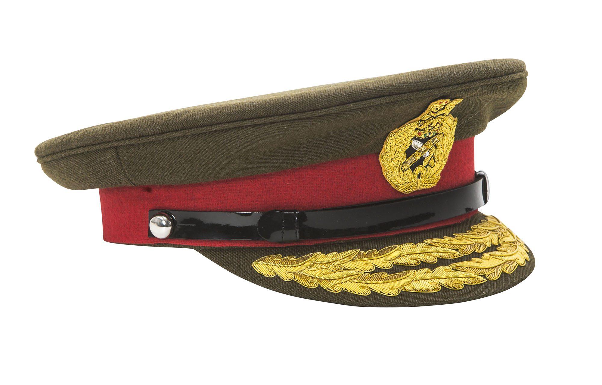 WW1 WW2 British army Field Marshall visor cap