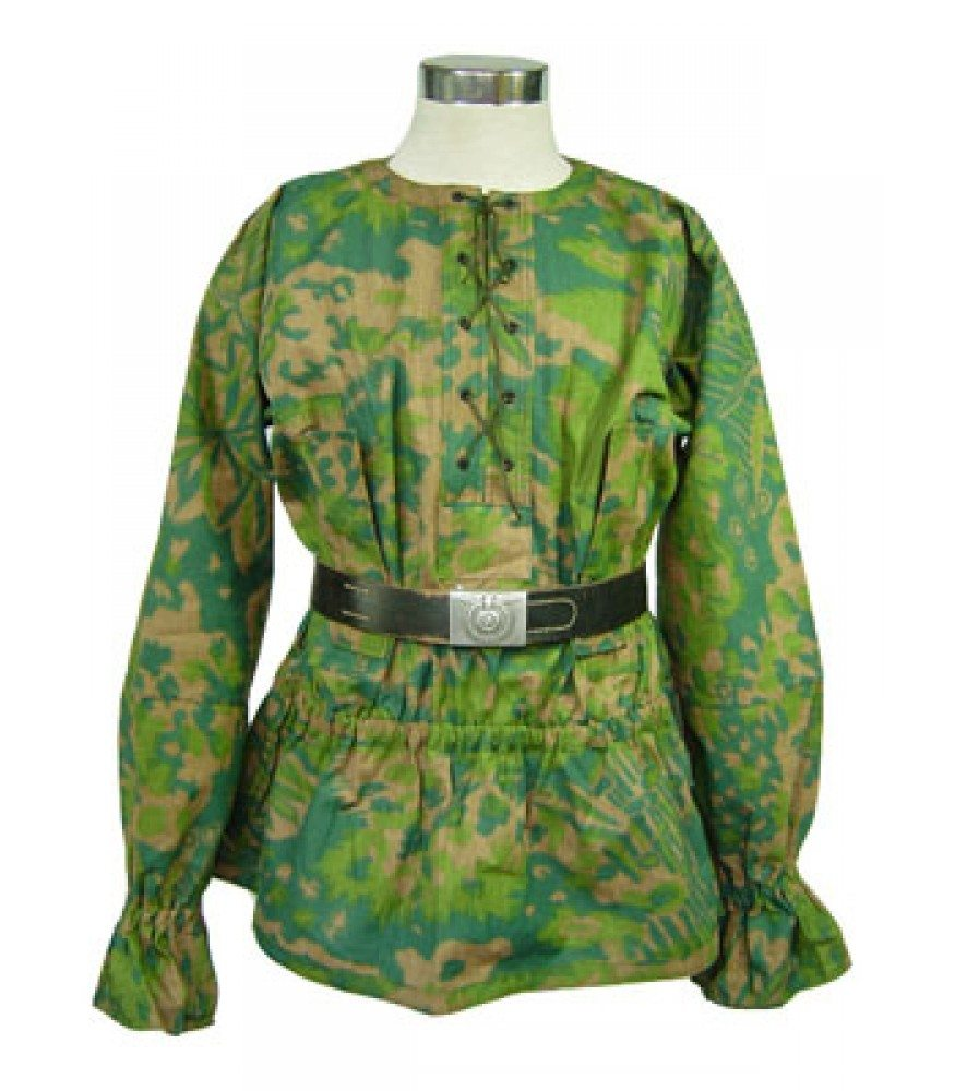 WW2 German Waffen SS Palm Tree reversible smock
