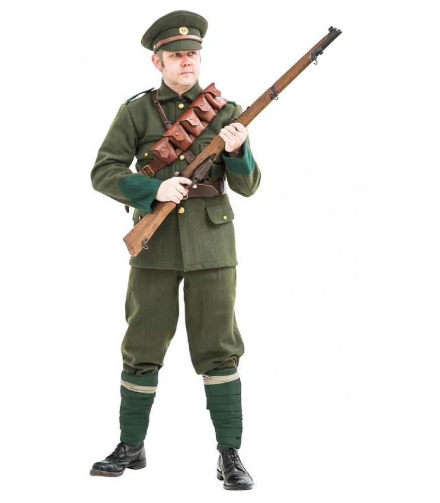 Irish volunteer uniform