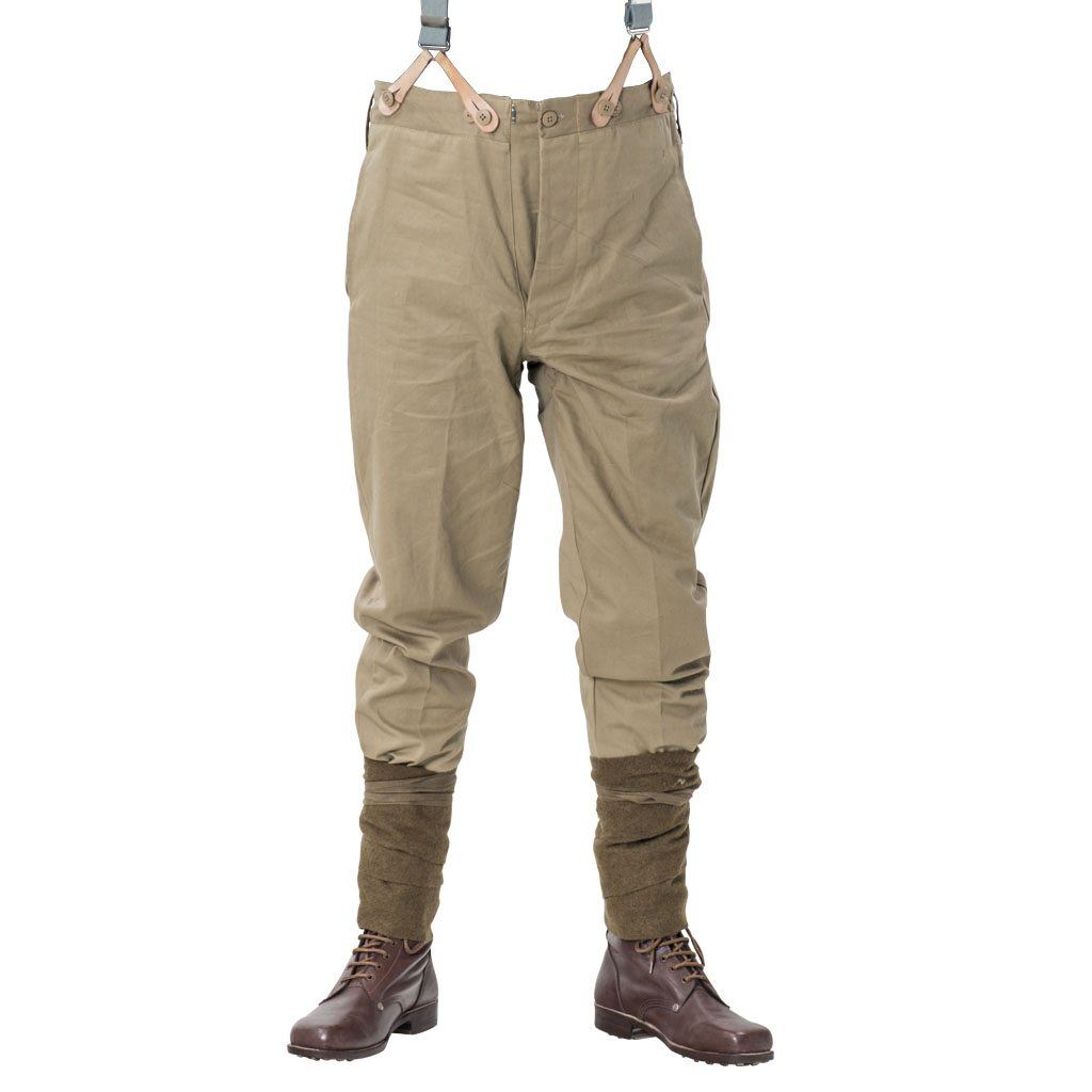 WW1 British army Khaki Drill trousers