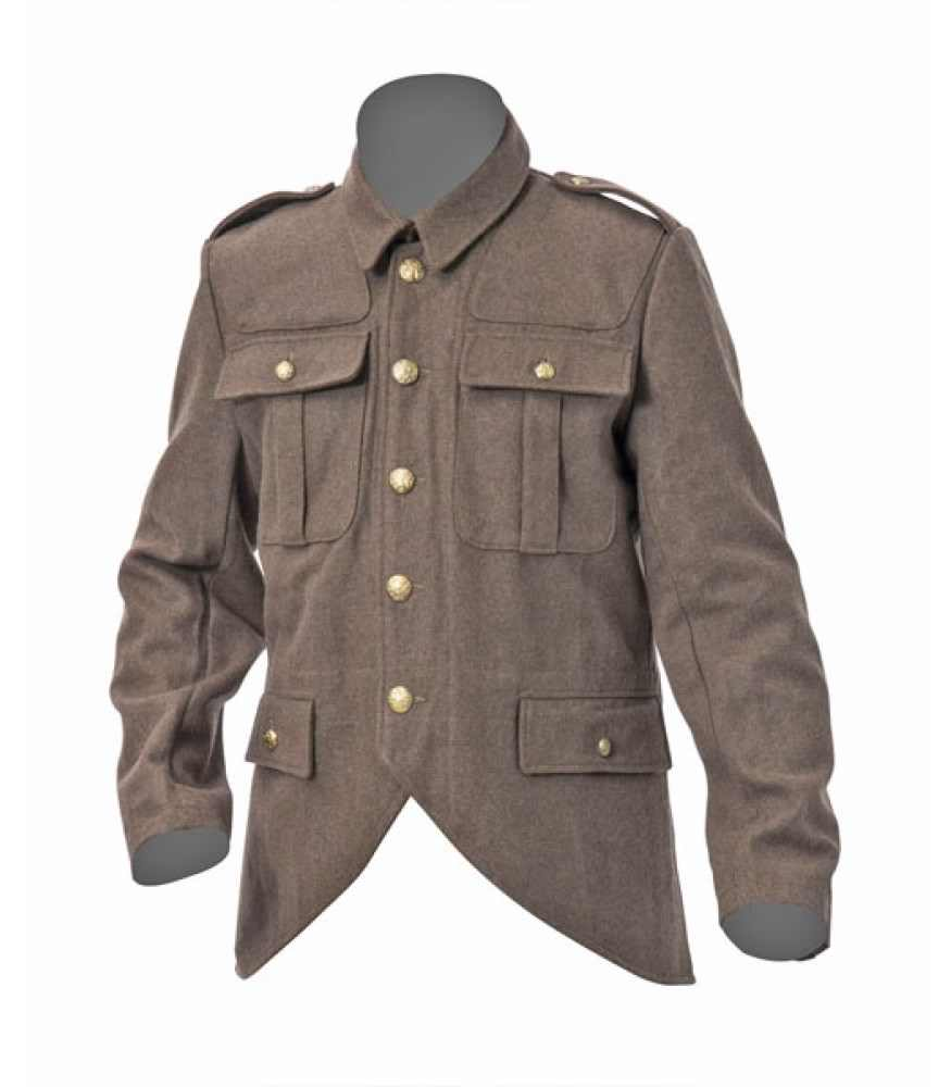 WW1 British army Scottish cut away tunic