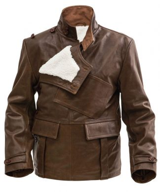 Leather - Brown - WW1 and WW2 jackets, coats and trousers