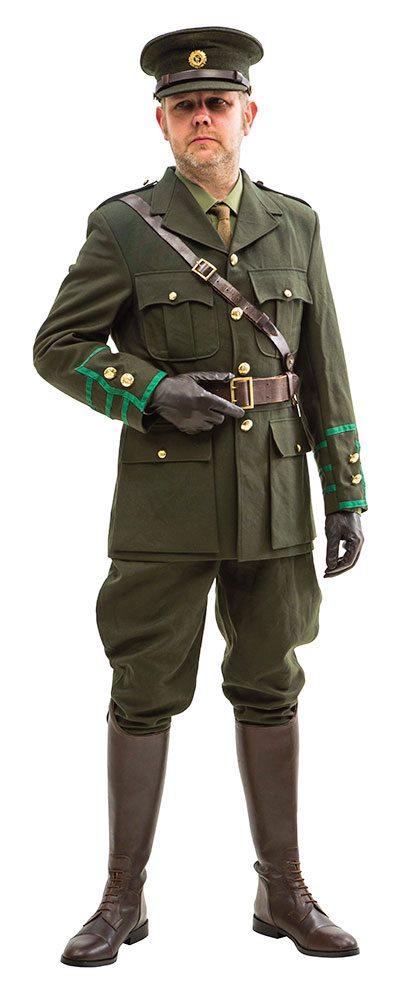 irish volunteers officer uniform