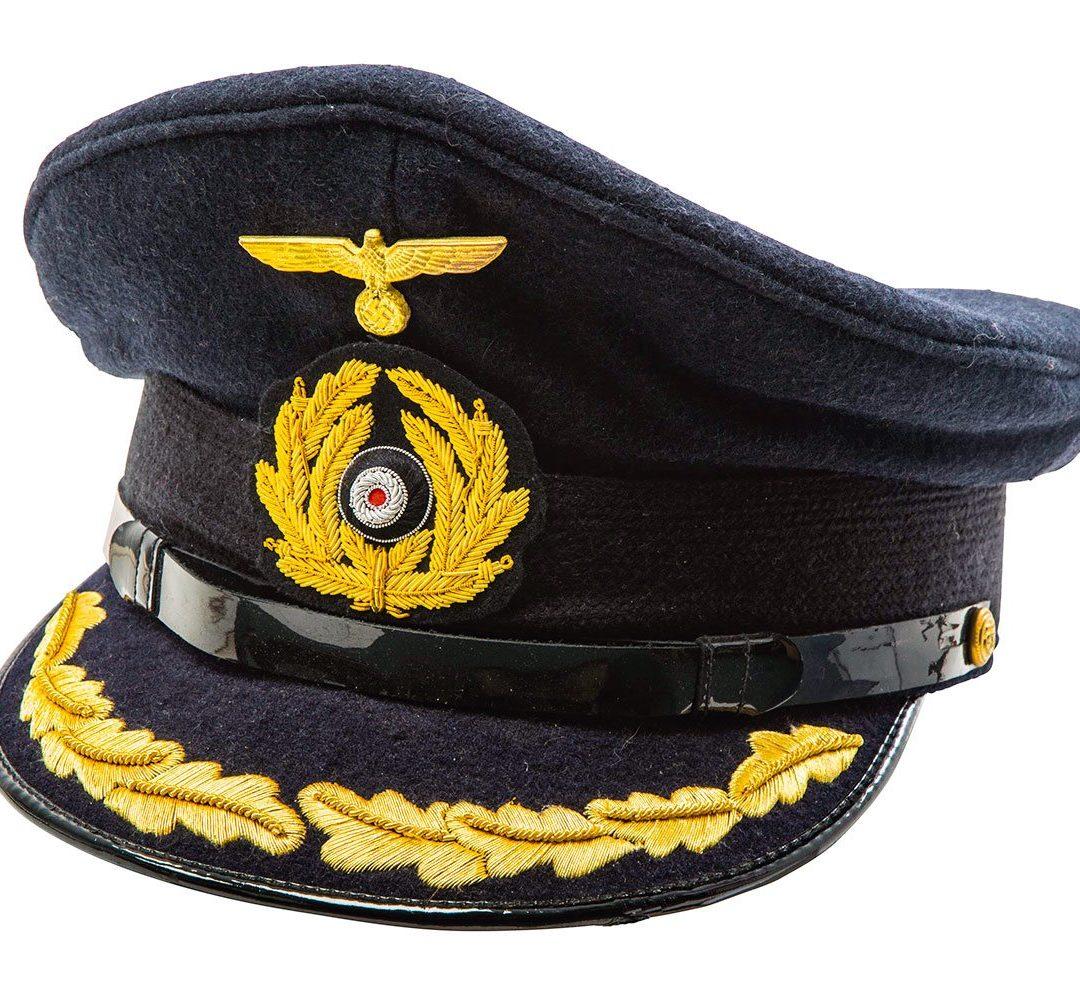 german navy captains cap