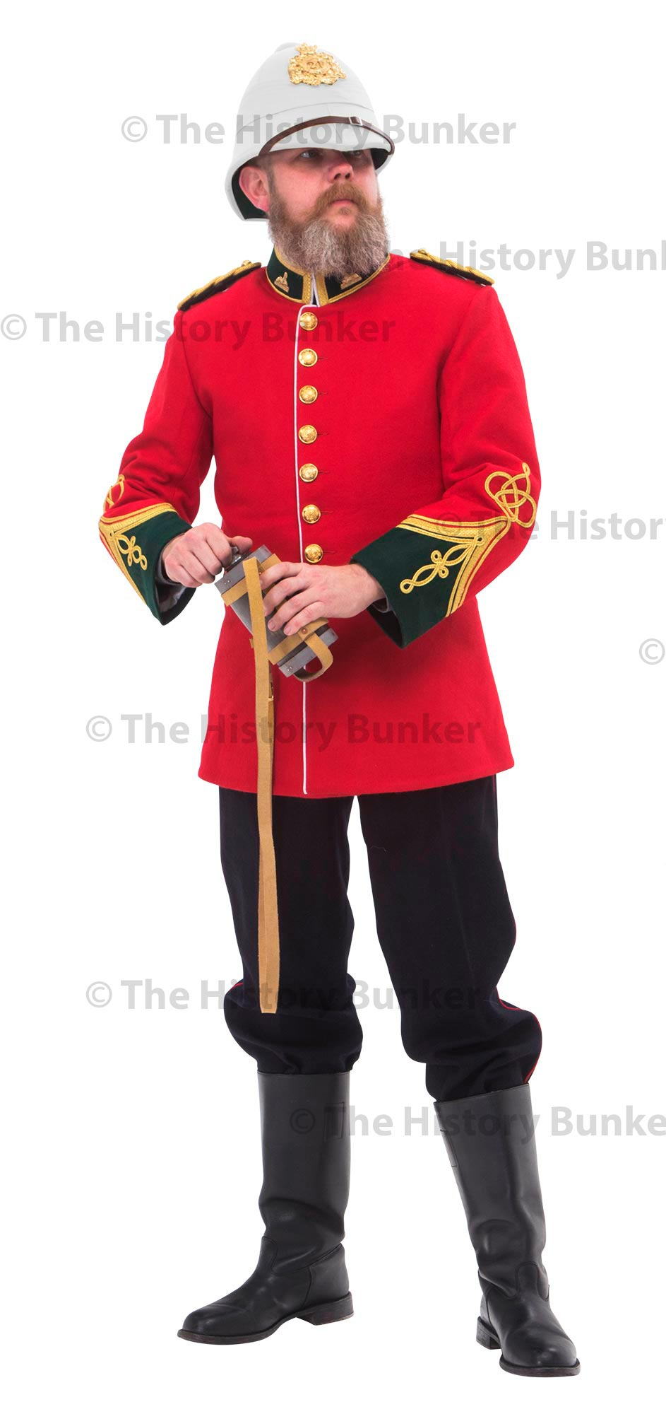 1879 British Anglo Zulu war officers uniform - Lt Gonville Bromhead